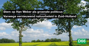 Han Weber - Groenste politicus